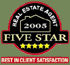 Five Star Award Winner